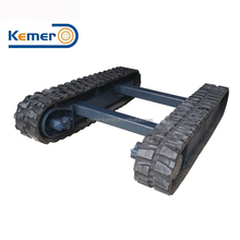 4 ton Rubber Crawler Track Undercarriage