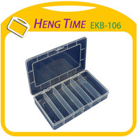 Plastic Food Tray with 6 Interval