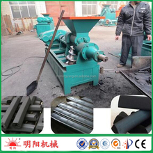 Factory price hot selling Silver charcoal bar making machine , coal bar/rod extruding machine 008615039052280