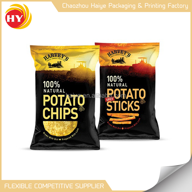 Best choose potato chips packaging pouch