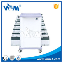 Luxurious double-side tray abs surgery trolley