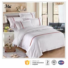 fitted korean hospital 100% cotton fabric single bed sheet set