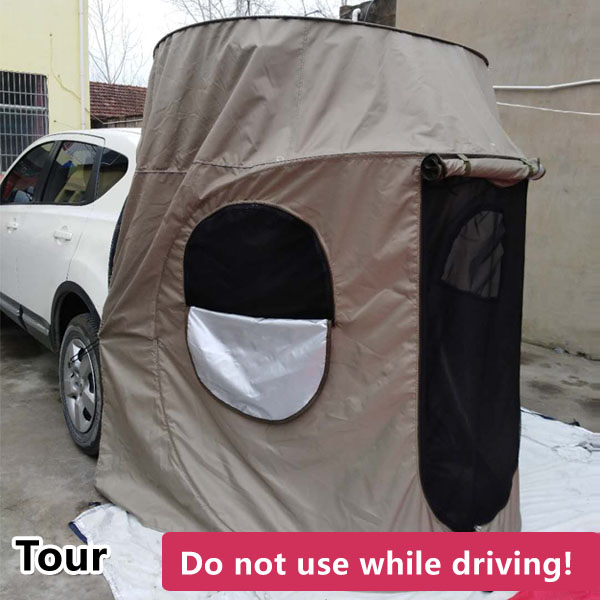 Car tent, self-driving tour, tail tent