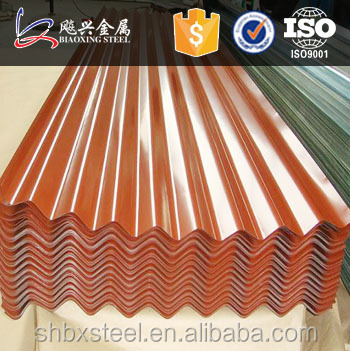 Color Corrugated Roof Sheets For Metal Building Farming With Price