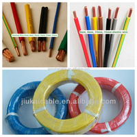 300/300v 450/750v waterproof PVC insulated electric motor wire colors