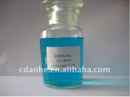 Factory Price EDTA chelate 8% Zinc Liquid fertilizer in Organic