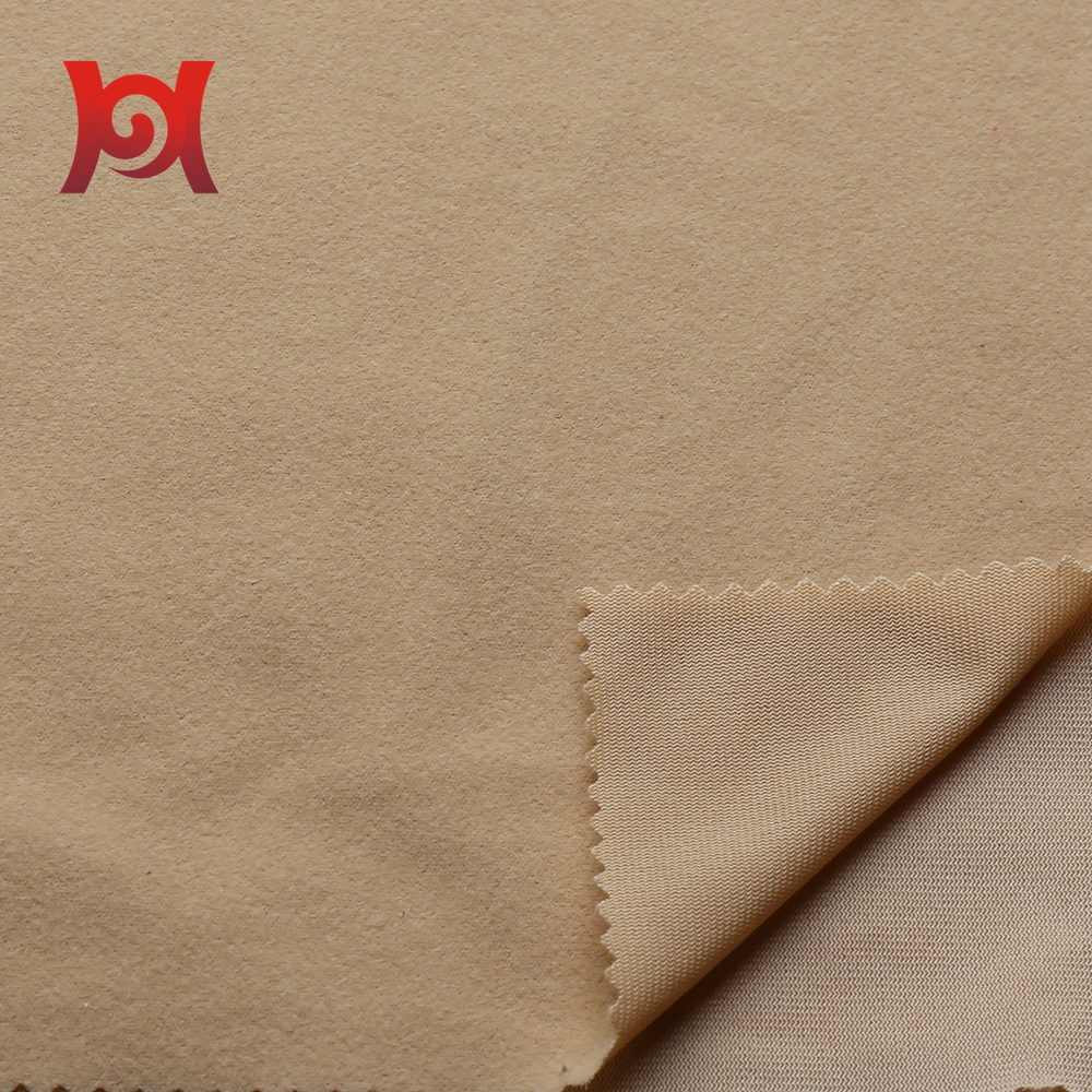 100%polyester brushed fabric for garment