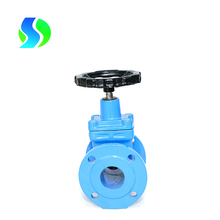 4 inch water gate valve api600 double flanged astm a216 wcb gate valves