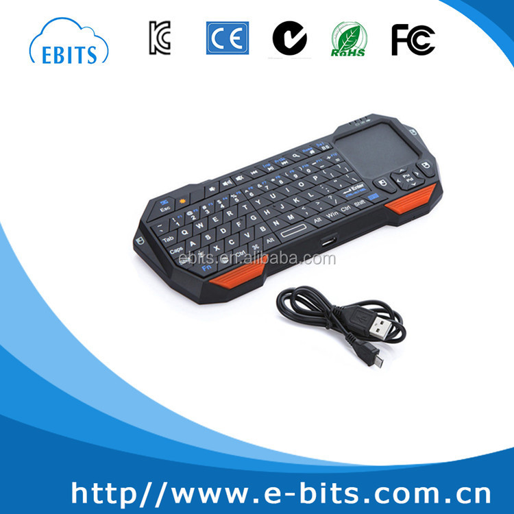 Portable Mini Bluetooth Keyboard Touchpad Gaming Keyboard for Laptop/Computer/Laptop/TV BOX/Tablet PC