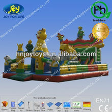 Cheap Castle Inflatable Fun City in Phoenix Theme /Anne