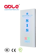 Touch Series Hotel Room Door Bell Panel electronic doorplate