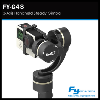 FY G4S with 360 degree in all 3 axis handheld steady gimbal
