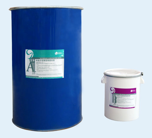 CJ992 two-component structural high caking property silicone sealant
