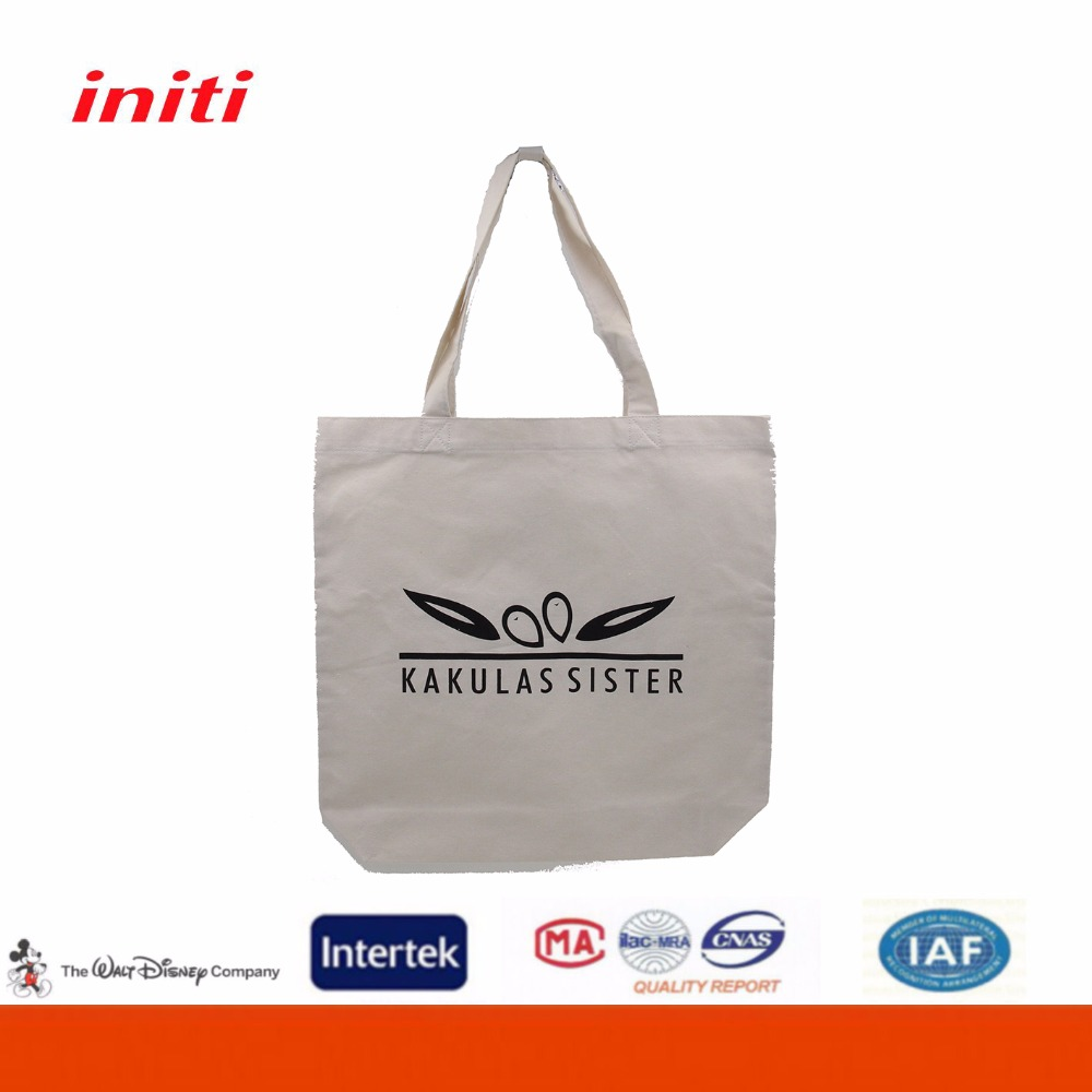 OEM Promotional Handmade Cotton Small Tote Bags for Shopping