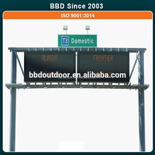 China professional design waterproof electronic advertising notice boards