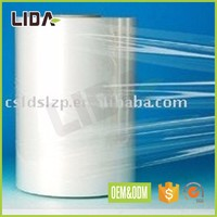 Waterproof wrapping use PVC thickness clear 80 micron plastic film