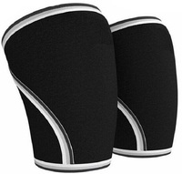 Wholesale adjustable youth self-heating knee brace pads for basketball or football,adjustable knee support