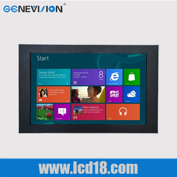 15 inch touch screen Android system advertising display mp4 player 3g wifi touch screen ad players