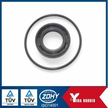 China supply rubber oil seal with metal spring for oil grease resistant