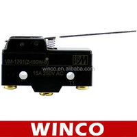 micro push button switch for cabinet door light VM-1701 Z-15GW-B 15A 250VAC