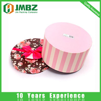 Gray board Material and Glossy Lamination Printing gift flower box