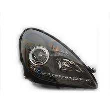 04-11 R171 SLK200 SLK350 SLK500 LED Angel Eyes Head Lights Head Lamp