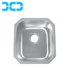16gauge 1.5mm Thickness Kitchen Small Dimension Undermount Stainless Steel 304 Square Sink 4742A/4738A/4632A