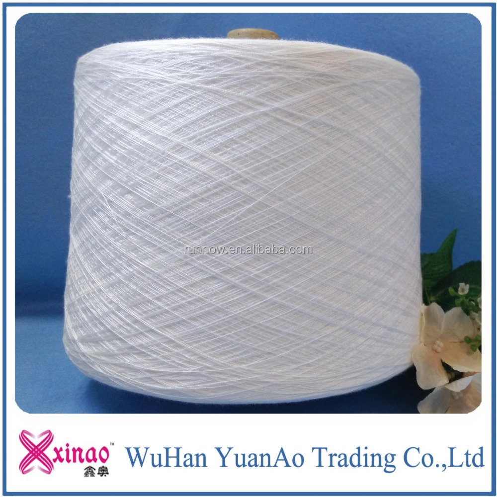 Paper Cone And Raw White Bright From Chinese 100 Pct Polyester Spun Sewing Thread Manufacturer In China