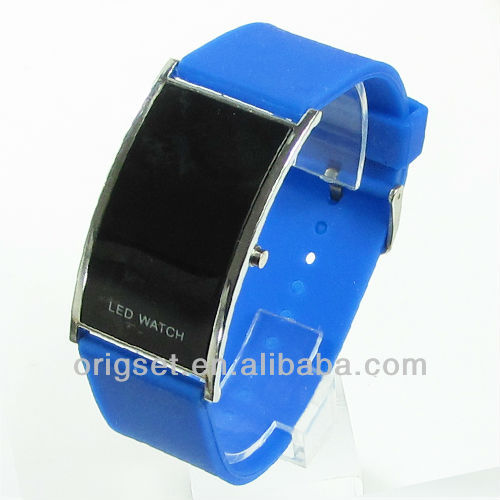 Top quality blue light led watch