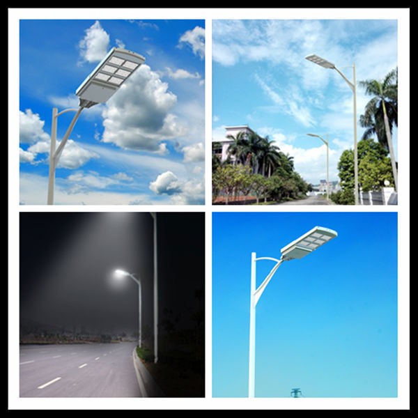 Waterproof Outdoor Solar Pv 40 Watts Led Street Light