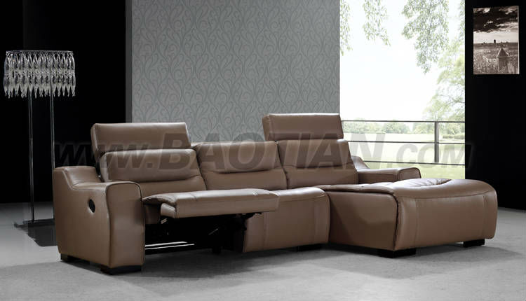 Baotian Furniture handling home theater recliner with cup holder
