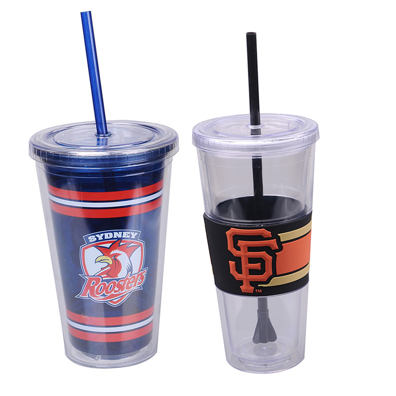 Free Juice Bathroom Accessories Double Wall Tumbler