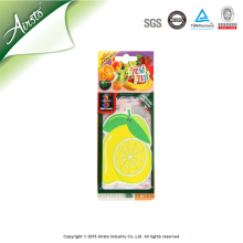 Promotional Customized Flavor Make Hanging Paper Car Air Freshener