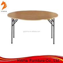 2015 Hotel furniture round rotating dining table