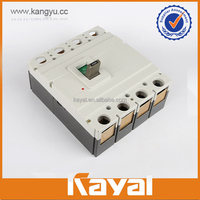 Low price factory direct sales 4 pole molded case circuit breaker medium voltage circuit breaker