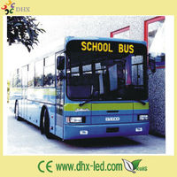 2015 High Quality Programmable Outdoor Bus Scrolling Led Sign