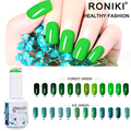 RONIKI Good Denisity No Shrinkage Nail Polish Mirror Effect Easy Soak Off Uv Led Mirror Nail Polish