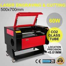 New System 700*500mm 60W CO2 LASER ENGRAVING CUTTING MACHINE Laser Engraver/Engraving /Cutting Machine With Color Screen