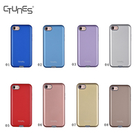 C&T 2 in 1 Detachable Hybrid TPU Gel Case Hard PC Back Shell Inner Soft Silicone Rubber Cover for Apple iPhone 7