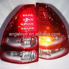 2003-2009 Year For Toyota Prado 2700 4000 FJ120 LC120 LED Tail light Red White Color V1 Type