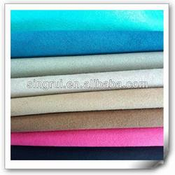 synthetic suede for shoe with cotton backing(DURAZNO)