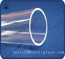 large diameter quartz glass tube,brisbane clear quartz glass tubing factory in china with high quality