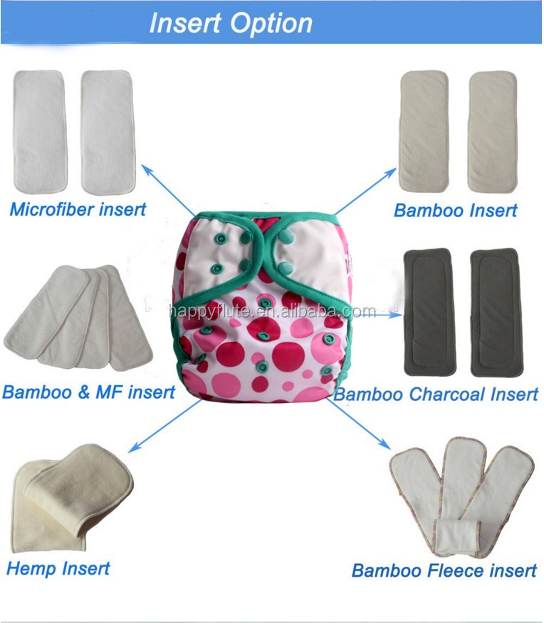 HappyFlute color binding diaper cover