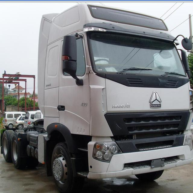 HOWO Tractor Truck For Different Kinds Of Trailer With Air-conditioner