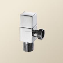 Rectangular Durable Solid Brass Spare Parts Angle Valve