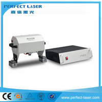 Electric cars Dot peen marking machine with CE certification from perfect laser