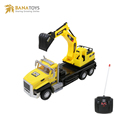 27MHz remote control construction engineering truck rc excavator models toys
