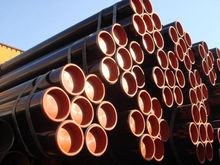 Three Layer 3PE Anticorrosion Construction Material ERW Steel Pipe for oil convey