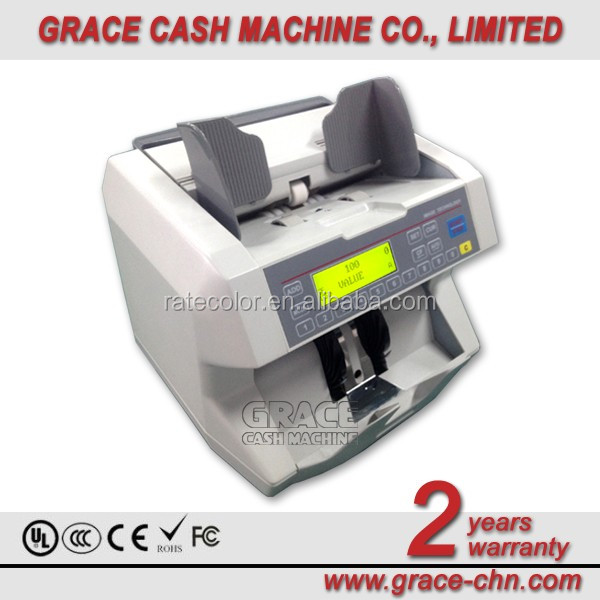 Mixed Currency Value Counter / CIS Money Counting Machine