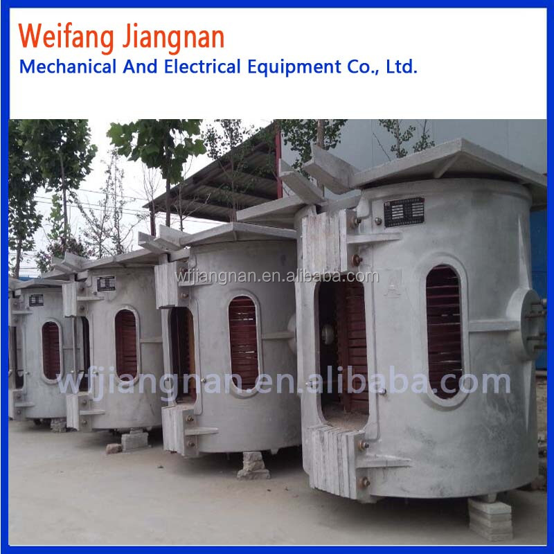 hot selling new design energy-saving gas fired aluminum melting furnace
